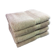 Restmor 100% Egyptian Cotton 4 Pack Bath Sheets - Latte