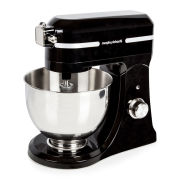 Morphy Richards Professional Diecast Stand Mixer with Guard - Black