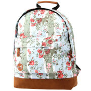 Mi-Pac Floral Blue Rose Print Backpack