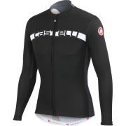 Castelli Prologo 4 Long Sleeve Jersey - Black/White