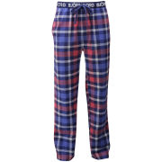 Bjorn Borg Men's Check on Check Loungepants - Blue