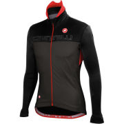 Castelli Poggio Jacket - Black/Anthracite/Red