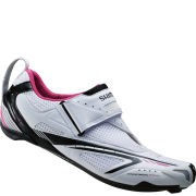 Shimano WT60 SPD-SL Women's Triathlon Shoes - White/Pink