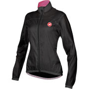 Castelli Women's Velo Windbreaker Jacket - Black