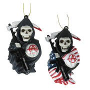 Sons of Anarchy Grim Reaper Blow Mold Ornament