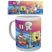 Spongebob Square Pants Group Mug