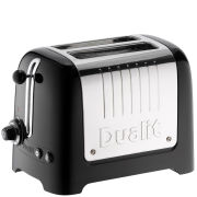 Dualit 2 Slot Lite Toaster Black Gloss