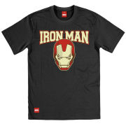 Iron Man Men's T-Shirt - Mask College
