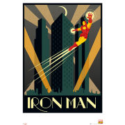 Marvel Retro Iron Man - Maxi Poster - 61 x 91.5cm