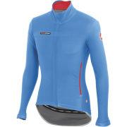 Castelli Gabba 2 Long Sleeve Wind/Rain Jersey - Drive Blue