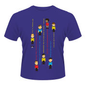 Star Trek Men's T-Shirt - Guess The Trexel - Purple