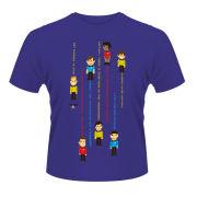 Star Trek Men's T-Shirt - Guess The Trexel - Purple