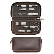 Twinox Emblem Brown 6-Piece Grooming Set