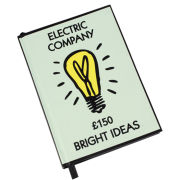 Monopoly Bright Ideas A6 Notebook