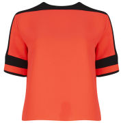 American Retro Women's James Top - Orange/Black