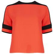 American Retro Women's James Top - Orange/Black