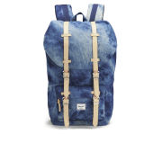 Herschel Select Little America Backpack - Acid Washed Denim