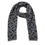 Paul Smith Accessories Men's Belvoir Tile Scarf - Blue