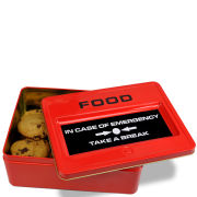 Caja de Lata Take a Break Emergency Food
