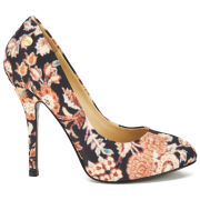 Vivienne Westwood Women's Hilary Dynasty Rug Print Heeled Shoes - Black Multi