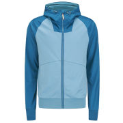Bench Men's Hooded Carbanic Track Jacket - Delphinium Blue