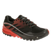 Merrell Men's All Out Charge Trail Running Shoes - Black/Molten Lava