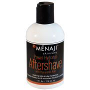 Menaji Power Hydrator Aftershave with Hyaluronic Acid (4oz./118ml)