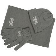 Everlast Men's 3-Pack Accessory Set - Grey Marl