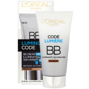 L'Oreal Paris Youth Code Luminize Code BB Cream SPF15 - Medium (50ml)