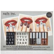 nails inc. Monogram Manicure Collection