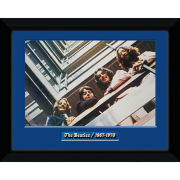 "The Beatles Blue Album - 8"""" x 6"""" Framed Photographic"