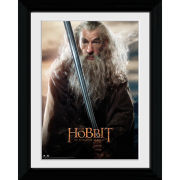 The Hobbit Desolation of Smaug Sword - Collector Print - 30 x 40cm