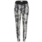 Baum und Pferdgarten Women's Elan Python Print Sweatpants - Black/White