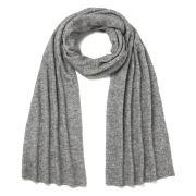 Samsoe & Samsoe Women's Banks Wool Scarf - Light Grey