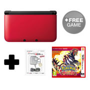 Nintendo 3DS XL Red/Black Pokémon Omega Ruby Pack