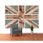 Union Jack Wall Mural