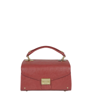 Mischa Barton Etienne Mini Box Shoulder Bag - Red
