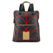 Etc by Orla Kiely Backpack Tote Bag - Navy
