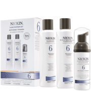 Nioxin System Kit 6 - Medium Thick Natural & Coloured Hair (3 Products)