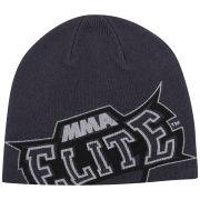 MMA Elite Herren Slide Beanie - Grau - Einheitsgröße