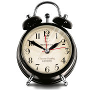 Covent Garden Medium Clock - Black