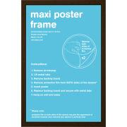 Walnut Frame Maxi - Maxi Frame - 61 x 91.5cm