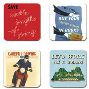 Postal Archive Set of 4 Coasters
