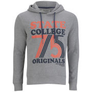 Jack & Jones Men's Carl Sweat Hoody - Light Grey Melange