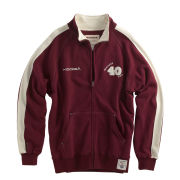 Kooga Mens Twickenham Zip Through - Burgundy