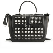 Rebecca Minkoff Elle Studded Leather Wing Tote Bag - Black
