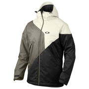 Oakley Men's Brigade Insulated Ski Jacket - Arctic White