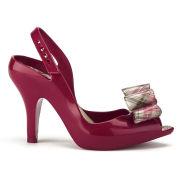 Vivienne Westwood for Melissa Women's Lady Dragon 12 Heels - Red/Tartan Bow