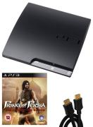 Playstation 3 PS3 Slim 120GB Console: Bundle (including Prince of Persia: The Forgotten Sands & 2M HDMI Cable)