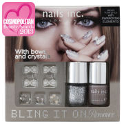 nails inc. Bling It On Romance Collection